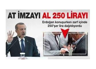 Türkiye Şoförler ve Otomobilciler Genel Kurulunda dağıtılan hediyeler, para ve demokrasi...