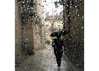 Yağmurda İstanbul keyfi