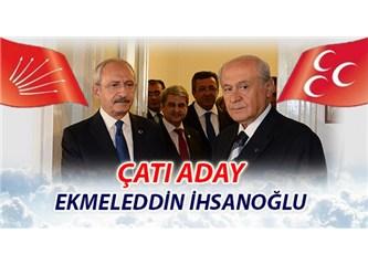 Millet Haşim Kılıç'ı beklerken torbadan Eklemeddin İhsanoğlu çıktı; Tayyip kolay kazanır