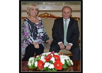 Antalya Valisini bir yazar olarak ziyaret ettim.