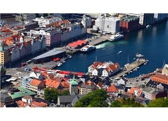 Norveç'in Güneyinde bir Şehir, Bergen