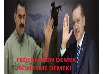 Federasyon olursa Türkiye diye bir şey kalmaz!