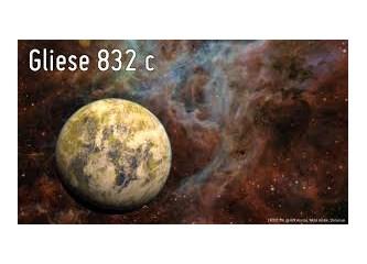 Yanı başımızdaki, dünyamıza çok benzeyen Gliese 832c gezegeninde hayat var mı?