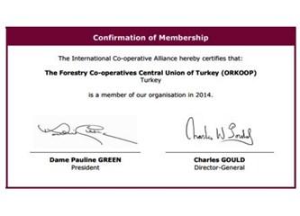 ORKOOP ICA Üyeliğine kabul edildi.