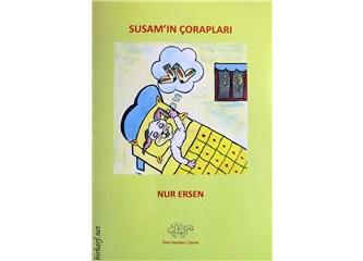 """Değerli dostum Nur Ersen'in """"Susam'ın Çorapları"""" isimli masal kitabı Ürün Yayınları'ndan çıktı"""