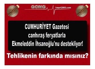 """CHP ve MHP'nin """"Çatı adayı"""" Ekmeleddin bey, Atatürkçü medyayı tornistan ettirdi"""