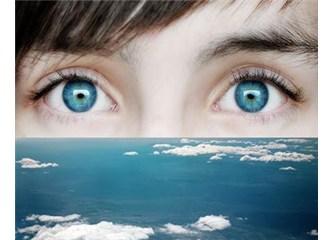 Gözler: Ruhtaki tüm detayları yansıtan iki küçük küre, resimler