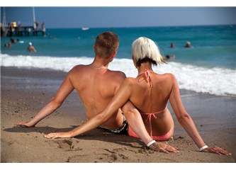 Deniz kumdan, Erkek Kadından ayrılmaz..!