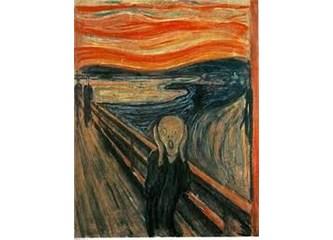 """Edward Munch """"Çığlık"""""""