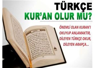 Kuran'ı yüksek yerlere kaldırmayın, okuyun…