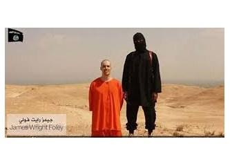 James Foley. Kafası kesildi. IŞİD kafirleri!