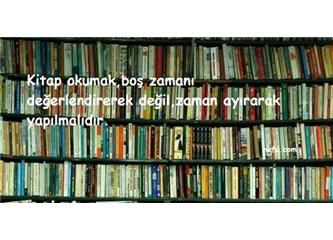 Kitapsız...
