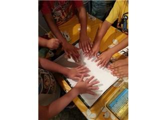 Çocuklarla Ebru Sanatı...