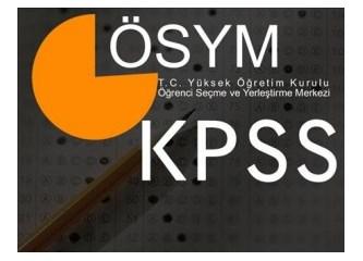KPSS her insan için bir umuttur