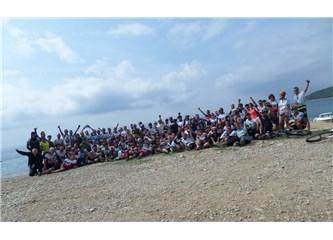 Keşan-Saroz 3. Dağ Bisikleti festivali.