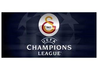 Galatasaray Şampiyonlar Ligi'ne başlıyor