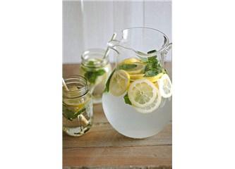 Su + Dilim Limon + Nane = Detox