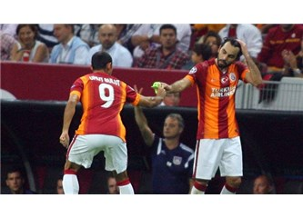 Cadı kazanı Galatasaray ve kaptanını yuhalayan taraftar
