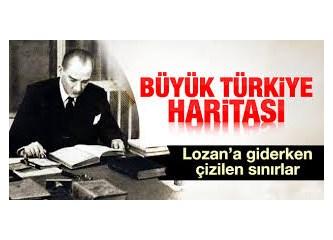 Ortadoğu haritası yeniden çizilirken, Türkiye de, doğal sınırlarına ulaşmalıdır....
