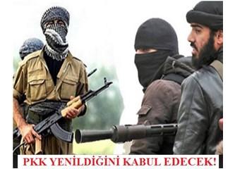 Işid'in karşısında kadın kılığında kaçan PKK şimdi ne yapsın?