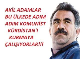 PKK'ya ve Öcalan'a taviz veren akil adamlar istemiyoruz!