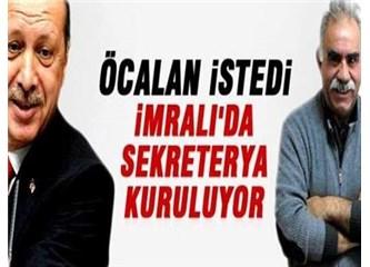 Yok Öcalan'a beş kişilik sekreterya kurulacakmış! Daha başka?