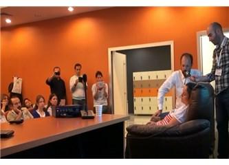 Dr. Ulusoy Hipnoz Enduksiyon Tekniği, Avrupa Hipnoz Kongresi Sunumu