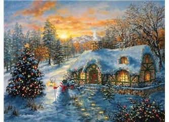 Elemli, yaslı bir kişi gibi ışıksız  bir yeni yıl......