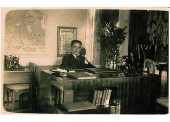 Bartın Ortaokulu'nun ilk Müdürü İhsan Atukeren