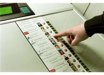 2015 seçimlerinde elektronik oylama yapıalcak