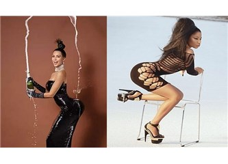 Kim Kardashian ve Nicki Minaj'ın popo estetiği sırları