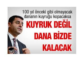 İstanbul HDP Kongresi; Dananın kuyruğu kopacak, Dana bizde, Kuyruğu onlarda kalacak ne demek?