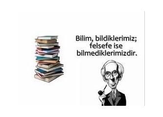 Türkçe ile felsefe yapılmaz