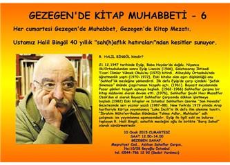 Halil Bingöl kitabiyat konulu sohbetiyle 10 Ocak'ta Gezegen Sahaf'ta
