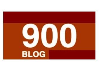Dokuzuncu yıla 900 blogla girerken…