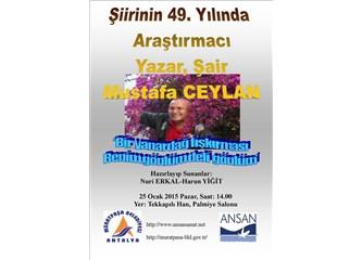 49. Sanat Yılında Mustafa Ceylan