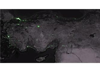 Türkiye'nin twitter haritası ve Bahçesaray