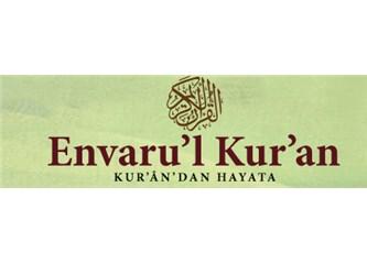 Envâru'l Kur'ân (Kur'an'dan Hayata) dersleri -1-