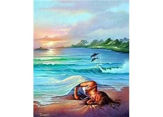 Deniz de acıtır tenini Aşk gibi