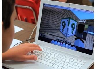 Çocuğunuzun oynadığı bilgisayar oyunlarına dikkat! Minecraft bakanlık incelemesinde!