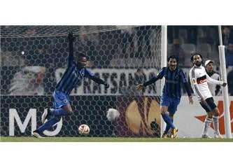 Beşiktaş kendi kendini imha etti.
