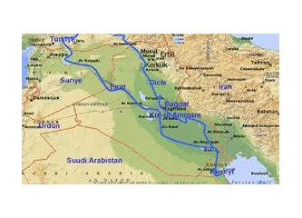 Türkiye'nin jeopolitik önemini etkiliyen ve artıran unsurlar - 1 : Su - Fırat ve Dicle Nehirleri