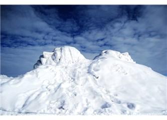 Dağları sardı ayaz