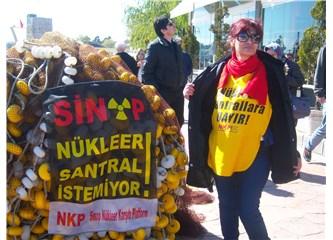 Sinop'ta 10 binler, nükleere karşı birlikte haykırdık!