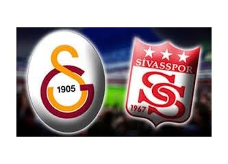 Temiz bir galibiyet . Galatasaray: 4 -  M.Sivasspor: 1