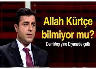 Selahattin Demirtaş: Kürtçe hutbe neden olmasın, Allah Kürtçe bilmiyor mu?
