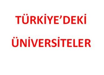 Türkiye'deki Üniversite Sayısı 193'e Ulaştı
