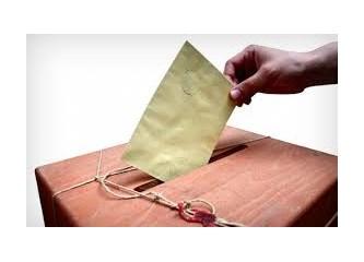 Değerli kardeşim senin bir tek oy'un geleceğimizi belirleyecek!