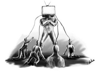 TV yayınlarının toplum psikolojisi üzerindeki korkunç etkisi