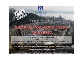 Stadyum oteller ve Beşiktaş stadyumu
